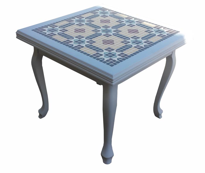 Tiled Mosaic Coffe Table