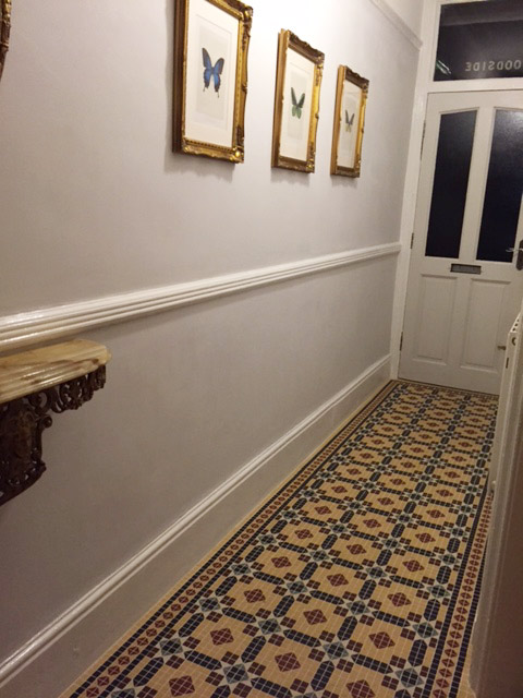 Mosaic tiles 2x2cm
