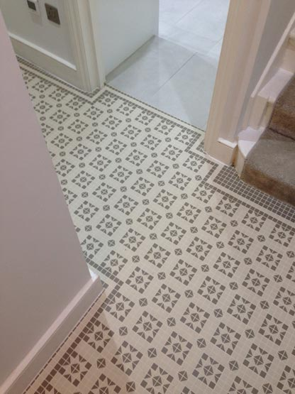floor tiles 2x2cm