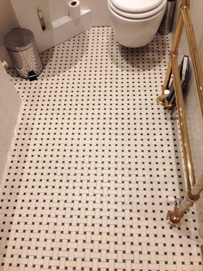 basket weave tiles