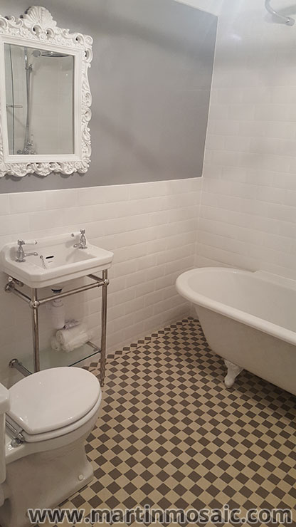 Bathroom floor tiles 5cm x 5cm thickness 5mm