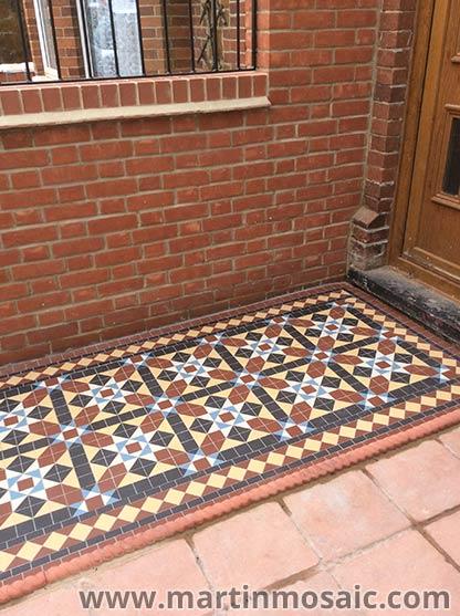 Pathway Unlazed Victorian Floor Tiles Cardiff Martin Mosaic