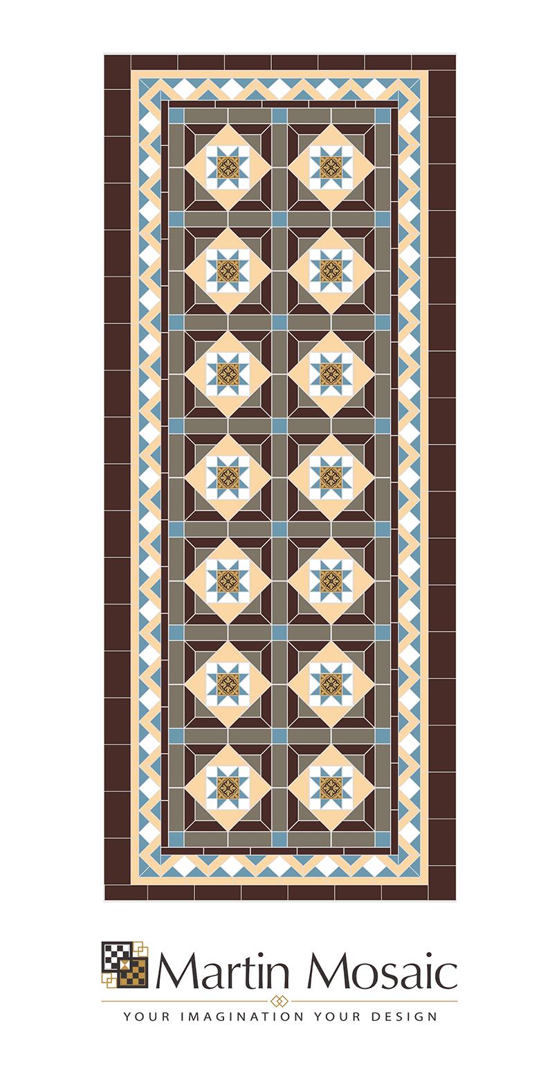 Bespoke victorian floor tiles