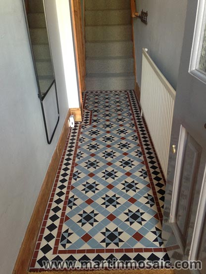 Victorian Floor Tiles Hallway Wolverton Martin Mosaic