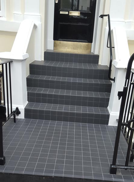 Tiled stairs, Notting Hill