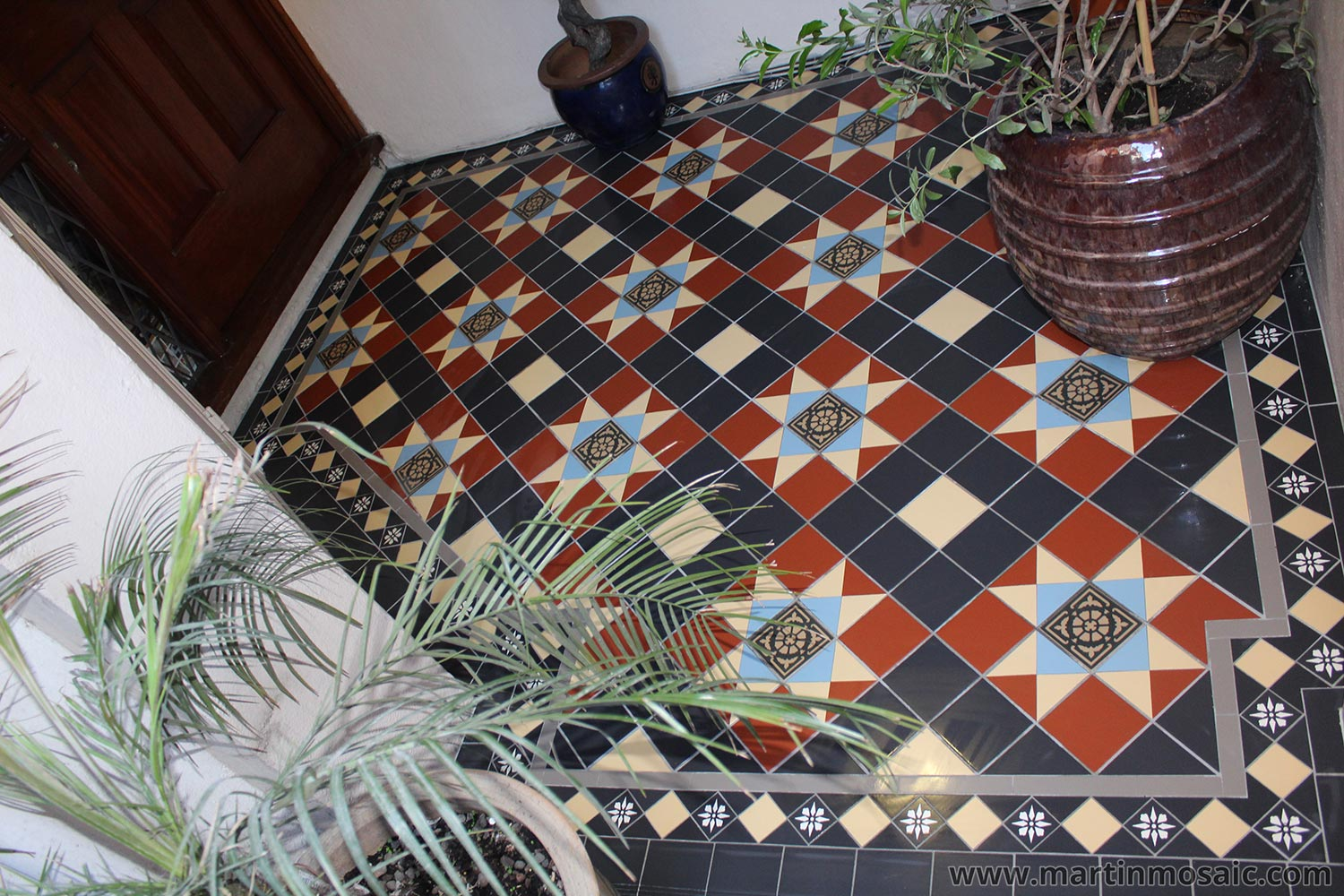 Gallery Martin Mosaic Ltd Victorian Floor Tiles In Wimbledon