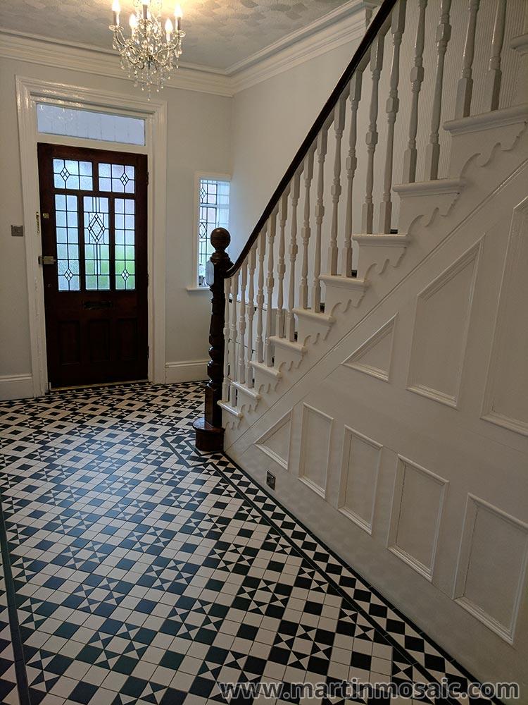 Gallery Martin Mosaic Ltd Victorian Floor Tiles In